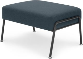 An Image of Knox Footstool, Aegean Blue