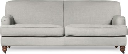 An Image of Orson 3 Seater Sofa, Chic Grey