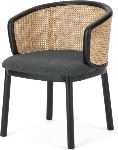An Image of Panos Carver Chair, Marl Grey