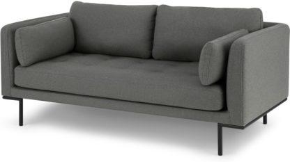 An Image of Harlow Large 2 Seater Sofa, Elite Grey