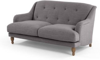An Image of Ariana 2 Seater Sofa, Graphite Grey