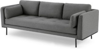 An Image of Harlow 3 Seater Sofa, Elite Grey
