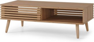 An Image of Tulma Storage Coffee Table, Oak Effect