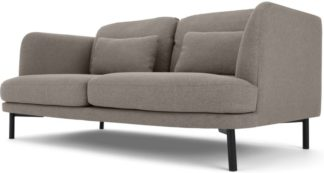 An Image of Herman 2 Seater Sofa, Manhattan Grey