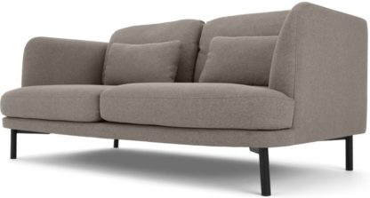 An Image of Herman 2 Seater Sofa, Manhattan Grey