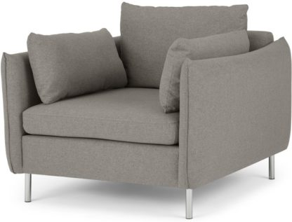 An Image of Vento Armchair, Manhattan Grey