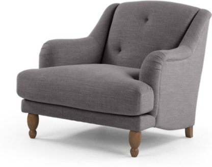 An Image of Ariana Armchair, Graphite Grey