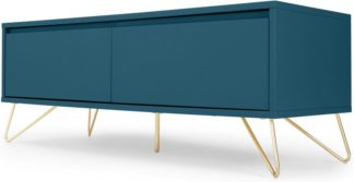 An Image of Elona Media Unit, Teal and Brass