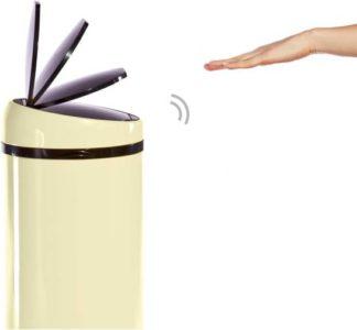 An Image of Sense Touch-free Sensor Bin 50L, Cream