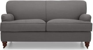 An Image of Orson 2 Seater Sofa, Graphite Grey