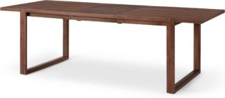 An Image of Nuno 6 - 8 Seat Extending Dining Table, Walnut