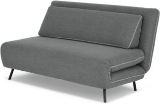 An Image of Kahlo Large Double Sofa Bed, Salt Grey