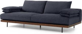 An Image of Zita 3 Seater Sofa, Kyoto Denim
