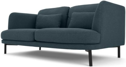 An Image of Herman 2 Seater Sofa, Aegean Blue