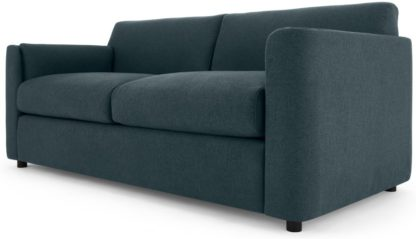 An Image of Baen 2 Seater Sofa Bed, Aegean Blue