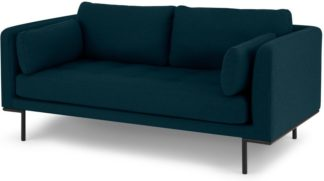 An Image of Harlow Large 2 Seater Sofa, Elite Teal