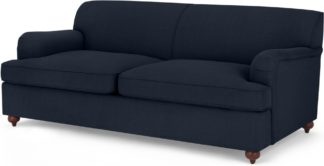 An Image of Orson Sofa Bed, Dark Blue Weave