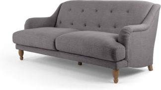 An Image of Ariana 3 Seater Sofa, Graphite Grey