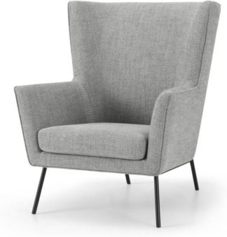 An Image of Egan Accent Armchair, Pewter Grey Weave