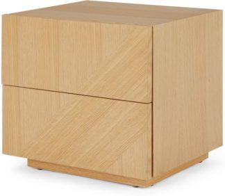 An Image of Hazzard Bedside Table, Oak