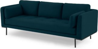 An Image of Harlow 3 Seater Sofa, Elite Teal