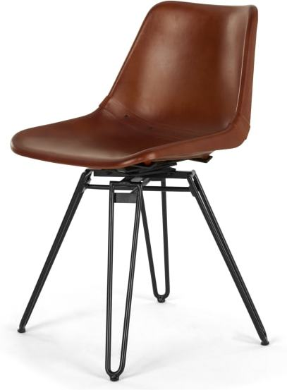 An Image of Kendal Office Chair, Tan and Black