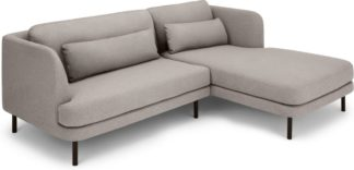 An Image of Herman Right Hand Facing Chaise End Corner Sofa, Manhattan Grey