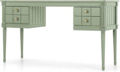An Image of Bourbon Vintage Desk, Sage Green