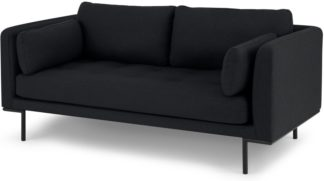 An Image of Harlow Large 2 Seater Sofa, Elite Slate