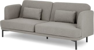 An Image of Herman Click Clack Sofa Bed, Manhattan Grey