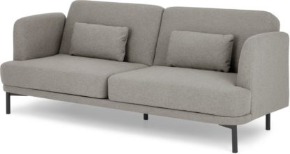 An Image of Herman Click Clack Sofa Bed, Manhattan Grey