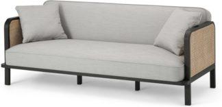An Image of Toriko Click Clack Sofa Bed, Dove Grey