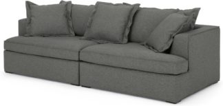 An Image of Elmer 3 Seater Sofa, Coventry Grey