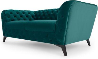 An Image of Sloan 2 Seater Sofa, Seafoam Blue Velvet