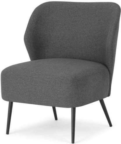 An Image of Topeka Accent Armchair, Marl Grey