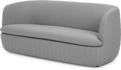 An Image of Tandy Large 2 Seater Sofa, Quilted, Cool Grey