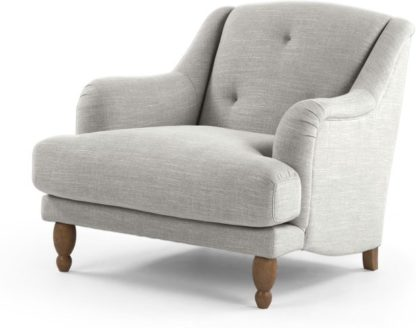 An Image of Ariana Armchair, Chic Grey