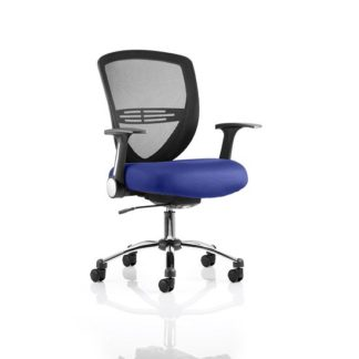 An Image of Avram Home Office Chair In Serene With Castors