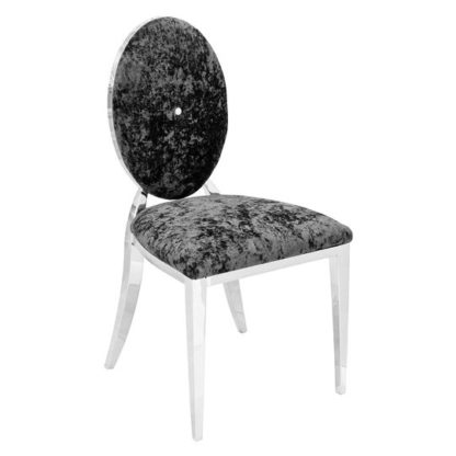 An Image of Silvia Contract Dining Chair With Robus Steel Legs