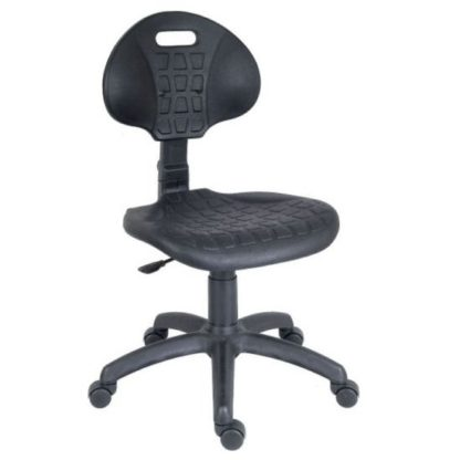 An Image of Caddington Home Office Chair In Black With 5 Star Base