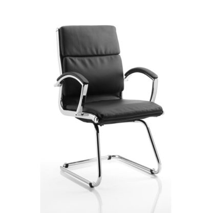 An Image of Classic Black Cantilever Office Chair