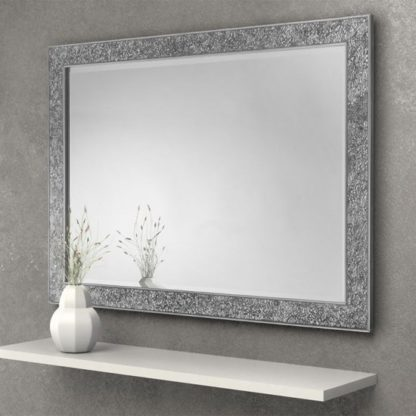 An Image of Staccato Fragment Wall Bedroom Mirror