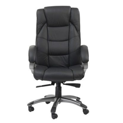 An Image of Nobbler Home And Office Executive Chair In Black