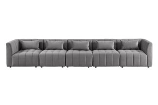 An Image of Essen Five Seat Sofa – Dove Grey