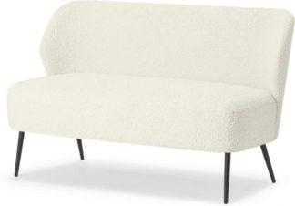 An Image of Topeka 2 Seater Sofa, Faux Sheepskin