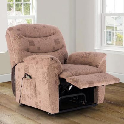 An Image of Regency Rise And Recline Chair In Wheat