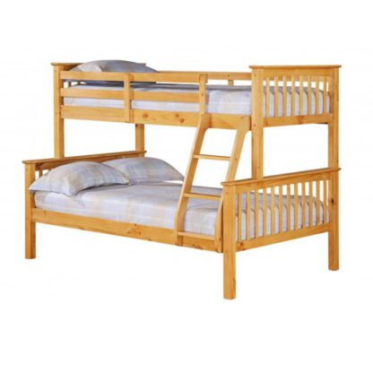 An Image of Porto Triple Sleeper Bunk Bed