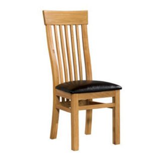 An Image of Empire Solid Oak Dining Chair