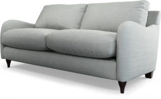 An Image of Custom MADE Sofia 2 Seater Sofa, Athena Dove Grey