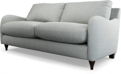 An Image of Custom MADE Sofia 2 Seater Sofa, Athena Dove Grey